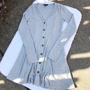 Forever 21 Long Sleeve Knitted Dress, S